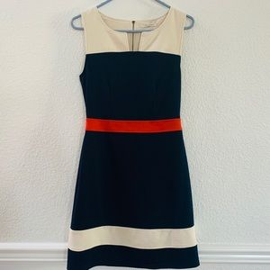 41 Hawthorne casual A line dress small colorblock